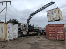 Photo Credit: Mohan V.   Moving Containers.