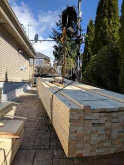 Photo Credit: Mohan V.   Moving lumber