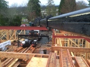 Photo Credit: Sean H. | Placing Beams