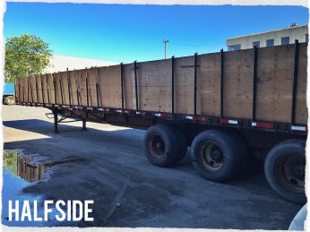 Size: 53ft Halfside Trailers/B-Trains